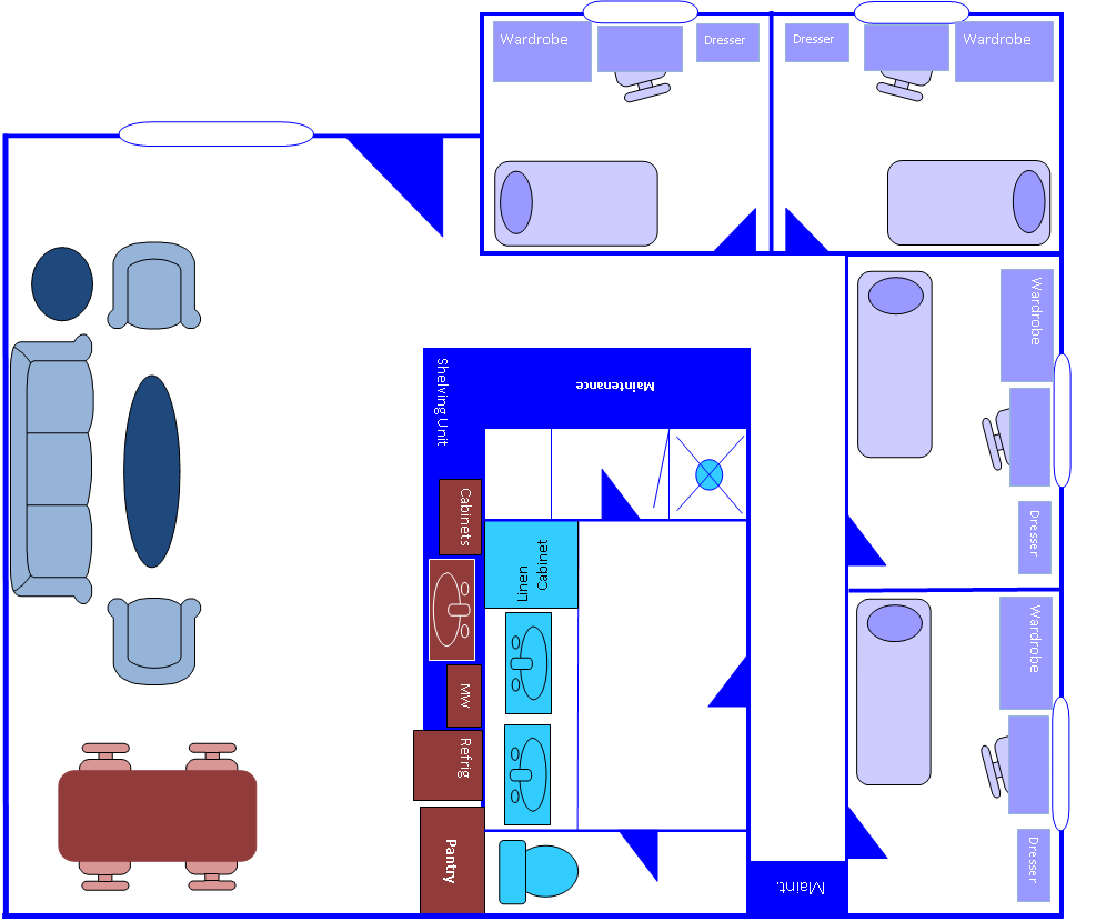 Apartment Layout1 Residence Halls