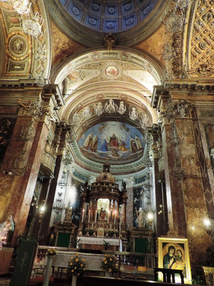 Inside an Italian Basilica