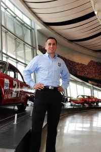 Mike Laheta '12, Manager Corp. Sponsorships, NASCAR Hall of Fame