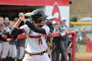 Softball v. Limestone  #RaiseTheRed match @ Crusader Field