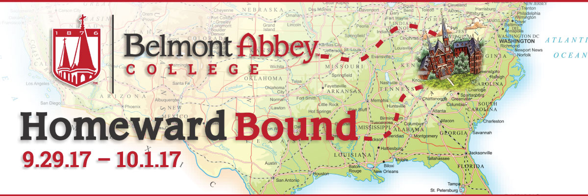 Home Belmont Abbey College Private Catholic Charlotte NC - Catholicism in us map