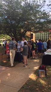 Crusader Involvement Fair @ The Dining Hall Lawn