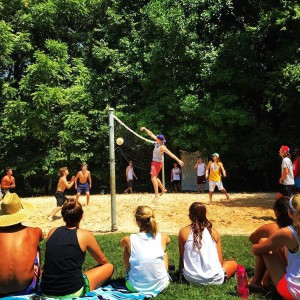 Intramural Sand Volleyball @ Volleyball Court outside of OC