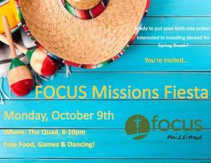 FOCUS Fiesta @ The Quad
