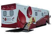 Belmont Abbey College Annual Fall Blood Drive @ Community Bloodmobile, in front of the Haid Theatre