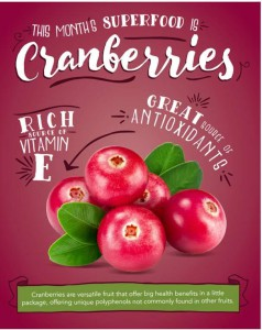 Teaching kitchen: Cranberries Ed. @ The Caf