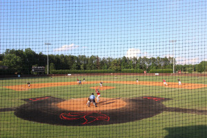 Baseball v. Newberry @ Abbey Yard