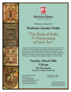 The Book of Kells Lecture @ The Mezz