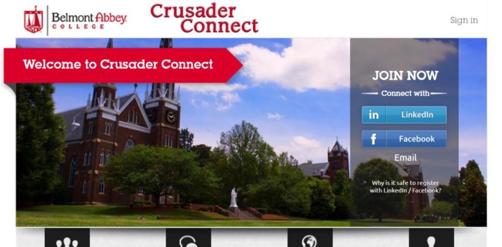 CrusaderConnectHomepage