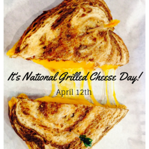 National Grilled Cheese Day @ The Caf