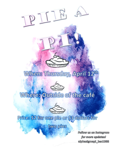 Pie a Pi @ Outside the Caf